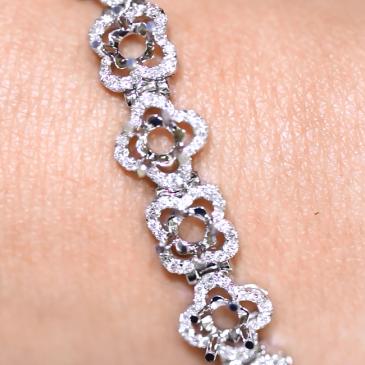 Custom Bracelet Setting AVLD138
