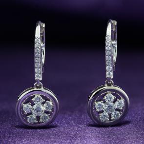 Diamond Earrings AEDG407