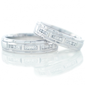 His & Hers Diamond Bands ARDG587