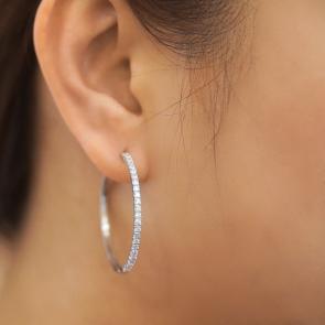 Diamond Earrings AEDG382